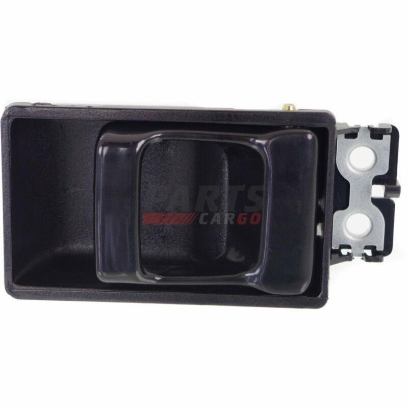 Rear Right Left  Pair Fit 86-94 Nissan D21 Black Inside Door Handle Front