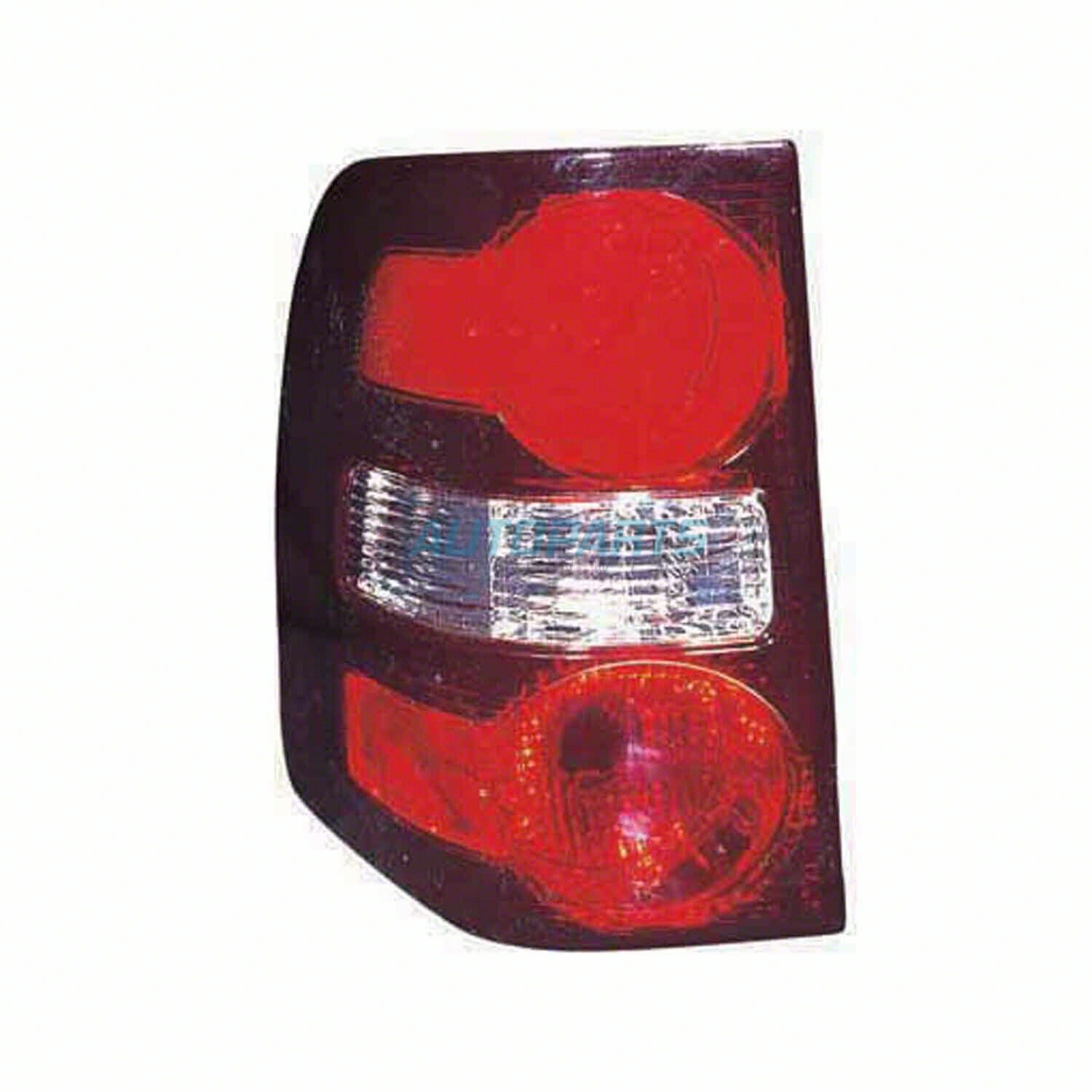 CAPA Passenger Side Tail Light Lens and Housing Compatible with 2006-2010 Ford Explorer