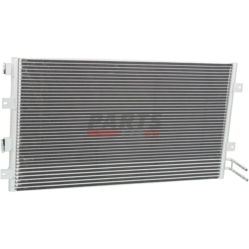 New A  C Condenser With Trans Cooler Fits 2001