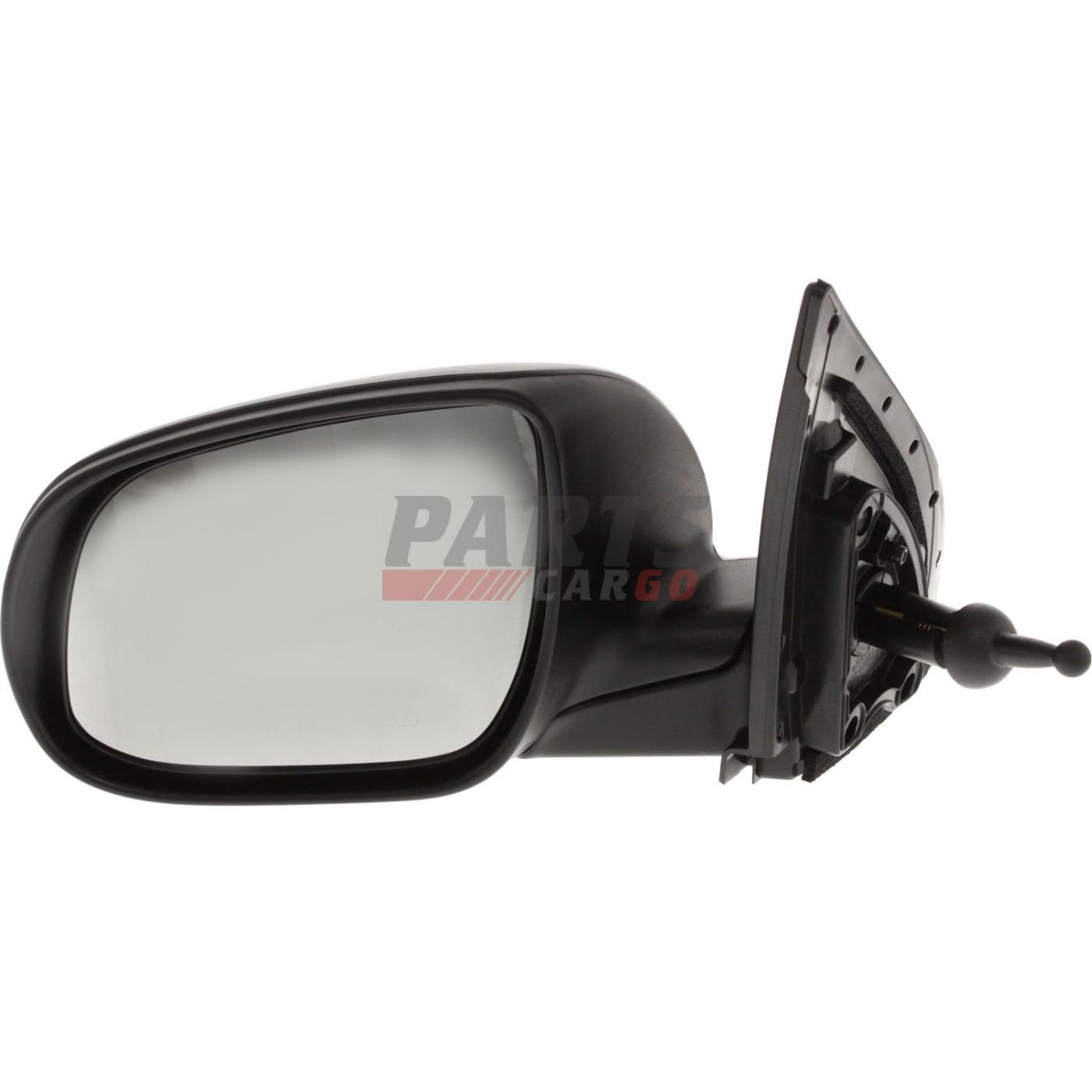 Manual Mirror For 2015-2019 Chevrolet Colorado Right Manual Fold Textured Black