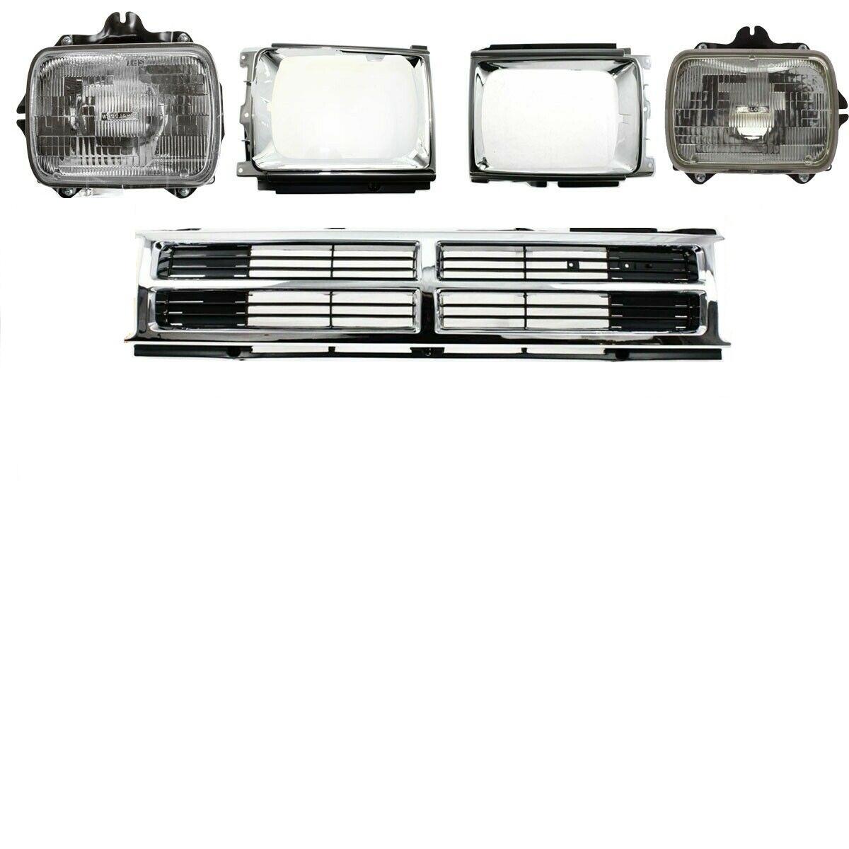 Grade Farol Porta Dianteira Toyota Pickup 87 88 To2512107 To2513109 To1200133 Ebay