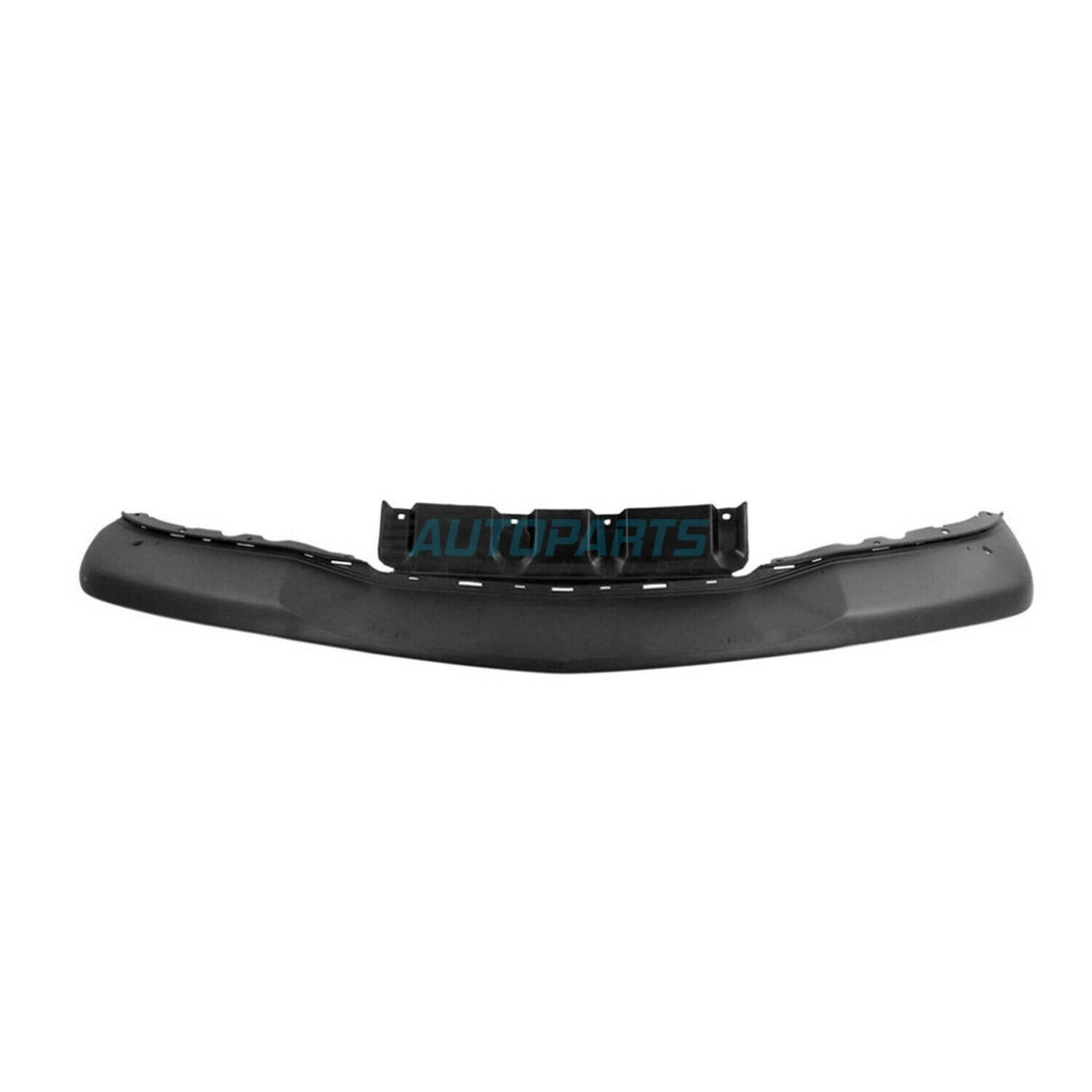 Front Bumper Skid Plate Black Fits 2014-2016 Acura MDX