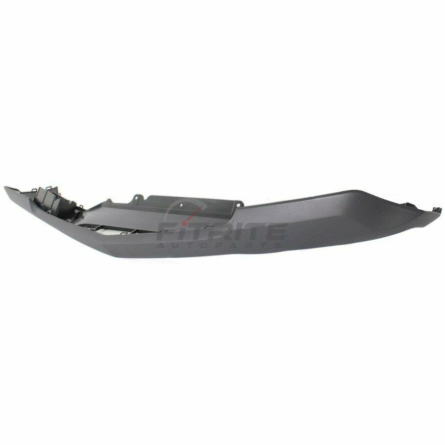 Front Lower Bumper Molding Textured Dark Gray For 2007