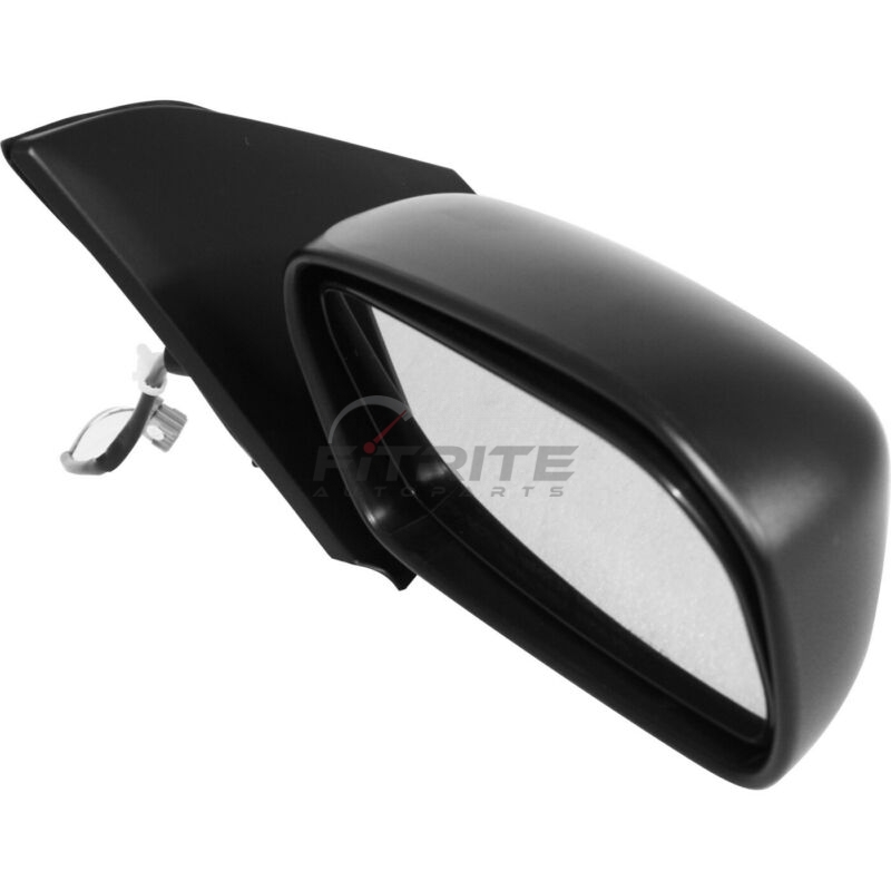 Mirror Compatible with 2002-2005 Honda Civic Power Manual Folding Hatchback Textured Black Passenger Side