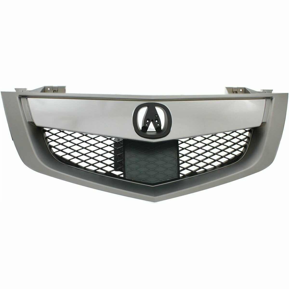 New Grille Made Of Abs Plastic Front For Acura MDX 2010