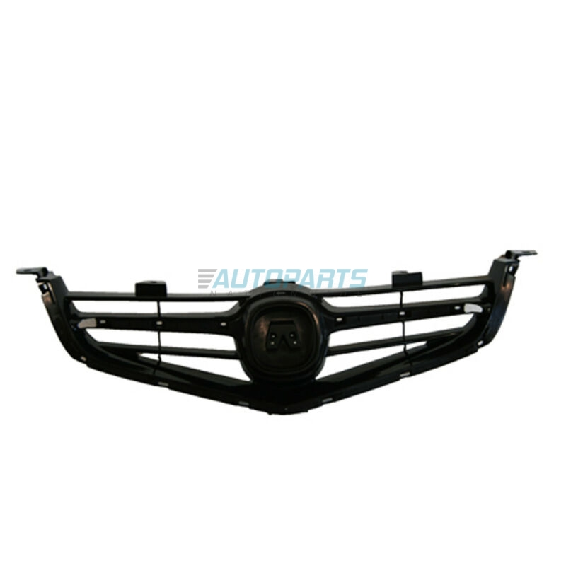 New Grille Made Of Plastic Matte-Black Fits 2004-2005