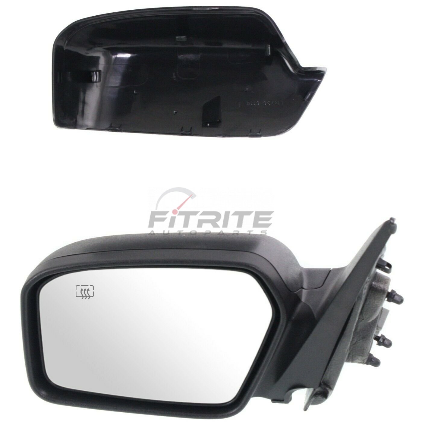 New FO1321267 Passenger Side Mirror for Ford Fusion 2006-2012