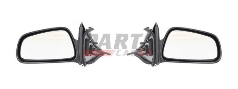 New Manual Mirror LH & RH Fits 1999-2003 Mitsubishi Galant