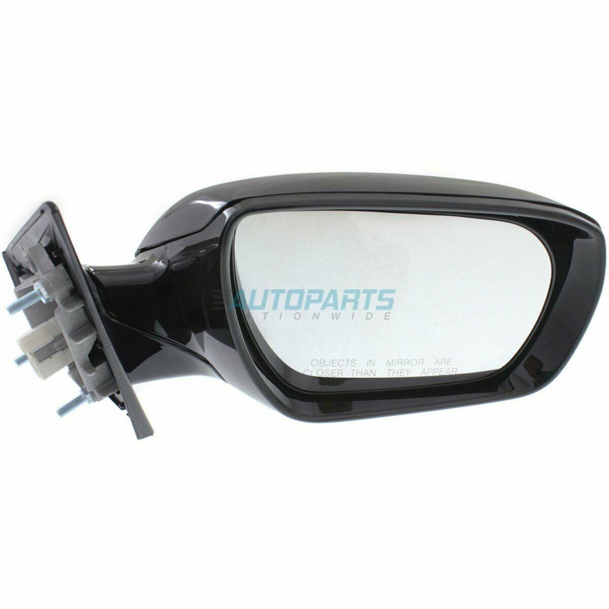 RH Side Power Heated Manual Folding Mirror Fits Hyundai Santa Fe HY1321200