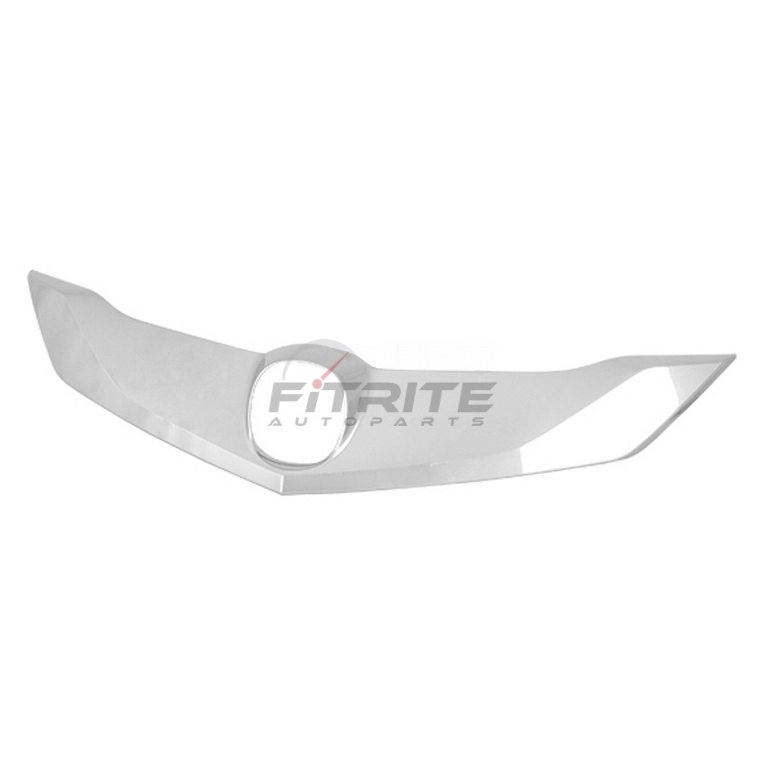 Front Upper Grille Molding Chrome Abs Plastic For 2016