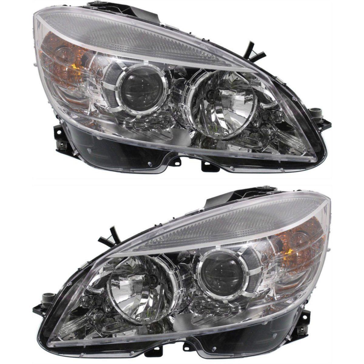 2008-2011 Mercedes Benz C300 C350 C63 Amg Headlight Assembly